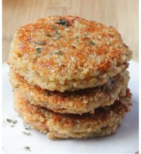 burger quinoa senza glutine