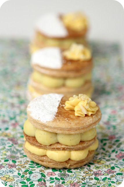 dolce gluten free Natale 2016 - Millefoglie al crem caramel