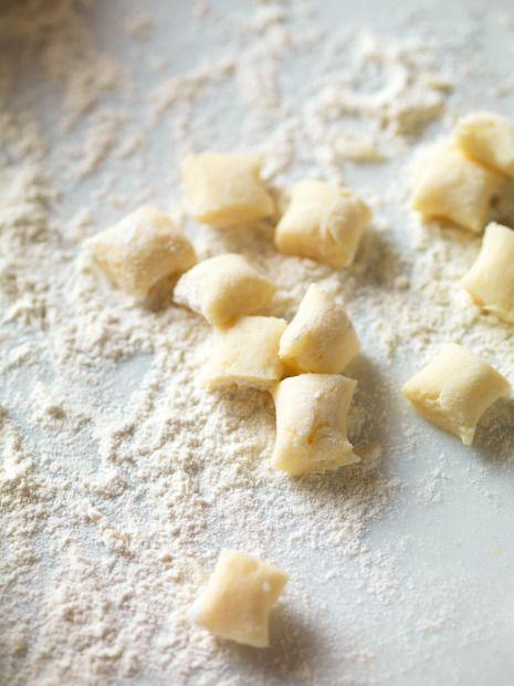 gnocchi di patate senza glutine e fecola di patate